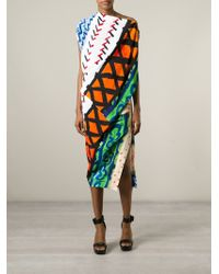 Vivienne Westwood Anglomania - Multicolor 'Harp' Printed Dress - Lyst