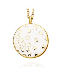 Astley Clarke - Metallic Sea Shell Star Shower 18ct Gold Vermeil Pendant Necklace - Lyst