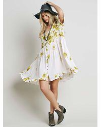 Free People | Green Womens Fp X Road Trip Dress | Lyst