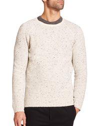 Vince - Natural Wool-blend Sweater for Men - Lyst
