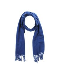Ballantyne | Blue Oblong Scarf | Lyst