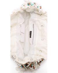 Shashi - White Nala Carryall Bag - Natural - Lyst