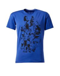 L'éclaireur | Blue Abstract Print T-shirt for Men | Lyst