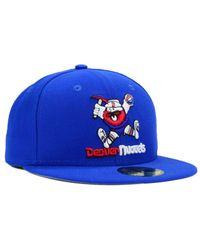 cheap for discount c94fa 6b7a5 Men s Blue Denver Nuggets 2-tone Basic 59fifty Cap