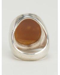 Iosselliani - Metallic Skull Cameo Ring - Lyst