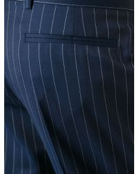 J.W.Anderson - Blue Pinstriped Trousers for Men - Lyst