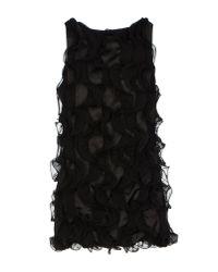 Jolie Carlo Pignatelli - Black Short Dress - Lyst