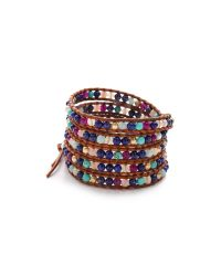 Chan Luu - Multicolor Lapis Beaded Wrap Bracelet - Lyst