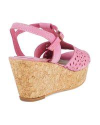 Matisse   Pink Sweet Cork Wedges   Lyst