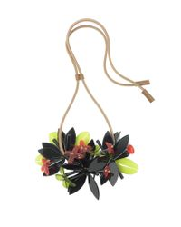 Marni | Multicolor Resin And Leather Necklace | Lyst