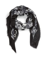 Marc By Marc Jacobs | Black Logo Print Scarf | Lyst