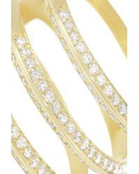 Ileana Makri - Metallic 18karat Gold Diamond Ring - Lyst