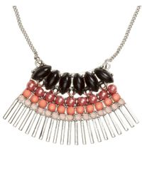 H&M - Metallic Necklace With A Pendant - Lyst