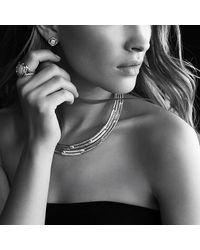 David Yurman | Metallic Infinity Earrings With Citrine | Lyst