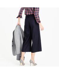 J.Crew - Blue Rhodes Pant In Italian Wool - Lyst