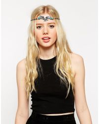 ASOS - Multicolor Eagle Hair Crown - Lyst