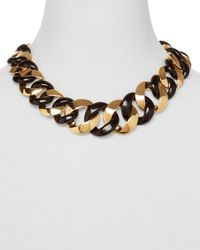 Marc By Marc Jacobs | Metallic Katie Mixed Link Necklace 18 | Lyst