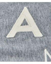 Aéropostale | Gray Vertical Aero New York Logo Graphic T | Lyst