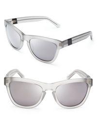 Westward Leaning - Gray Mercury Seven Mirrored Wayfarer Sunglasses - Lyst