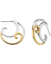 Kit Heath | Metallic Gold Plated Cosmic Gold Drop Earrings | Lyst