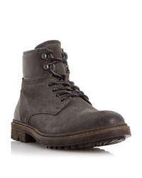 Dune | Gray Canyon Chukka Boots for Men | Lyst