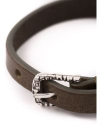 DIESEL | Brown 'amar' Bracelet for Men | Lyst
