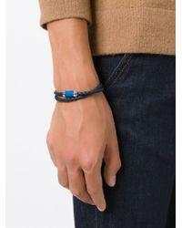 Tateossian - Blue 'alupop' Bracelet for Men - Lyst