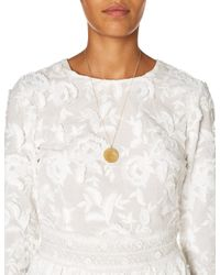 Alighieri | Metallic Gold Il Leone Medallion Necklace | Lyst