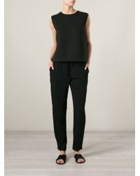 P.A.R.O.S.H. | Black 'pody' Trousers | Lyst