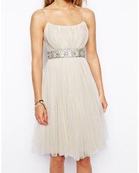 Needle & Thread - Pink Tulle Ballet Midi Dress - Lyst
