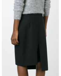 AALTO   Black 'decale' Skirt   Lyst