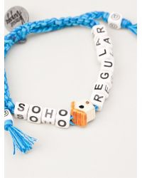 Venessa Arizaga - Blue 'soho House' Bracelet - Lyst