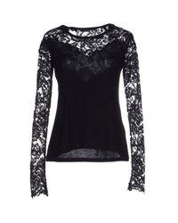 Ermanno Scervino - Black T-shirt - Lyst