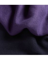 Berluti - Purple Cashmere And Silk-Blend Scarf for Men - Lyst