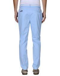 ELEVEN PARIS - Blue Casual Trouser for Men - Lyst