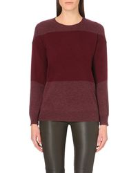 Theory | Purple Amilna Cashmere Jumper | Lyst