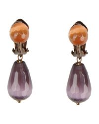 Donatella Pellini - Purple Earrings - Lyst