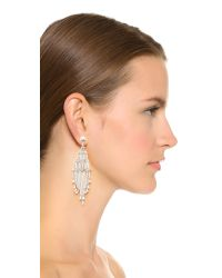 Adia Kibur - Metallic Eli Tiered Earrings - Lyst