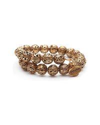 ALEX AND ANI - Metallic 'vintage 66 - Kingston' Wrap Bracelet - Lyst