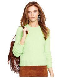 Polo Ralph Lauren | Green Crew-neck Sweater | Lyst