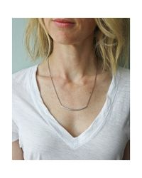 Maslo Jewelry | Metallic Elements Necklace | Lyst