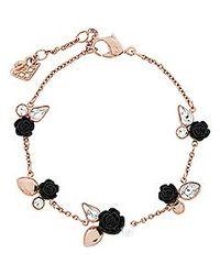 Swarovski | Pink Bouquet Bracelet | Lyst