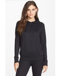 Joe's Jeans - Black 'cara' Thermal Hoodie - Lyst