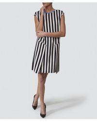 Paul Smith Black Label   Multicolor Silk Stripe Dress   Lyst
