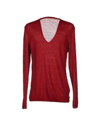 Officina 36 | Red Sweater for Men | Lyst