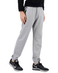 Le Coq Sportif - Gray Casual Pants for Men - Lyst