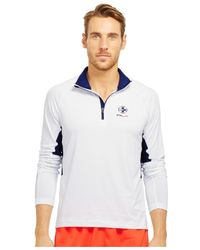 "Polo Ralph Lauren | White Polo Sport ""rlx"" Jersey Half-zip Pullover for Men | Lyst"