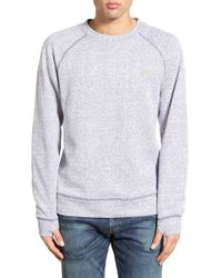Bench - White 'hub' Crewneck Sweatshirt for Men - Lyst