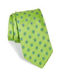 Ted Baker - Green Medallion Silk Tie for Men - Lyst