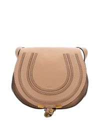Chloé - Brown Clay Beige Leather Small Shoulder Bag - Lyst